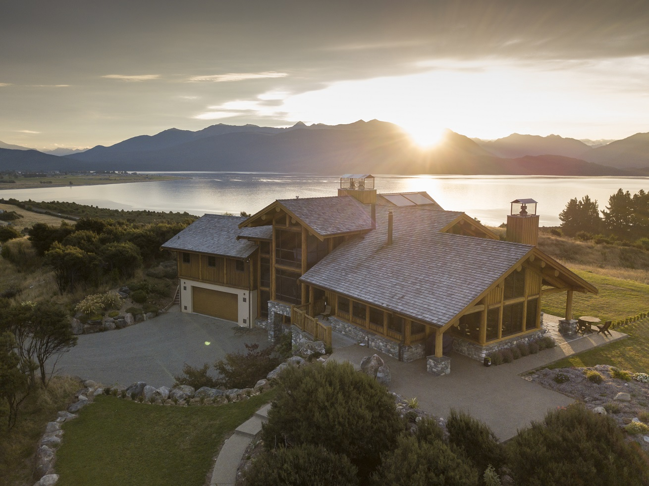 Owners Residence Fiordland Lodge Luxury Lodges Of New Zealand