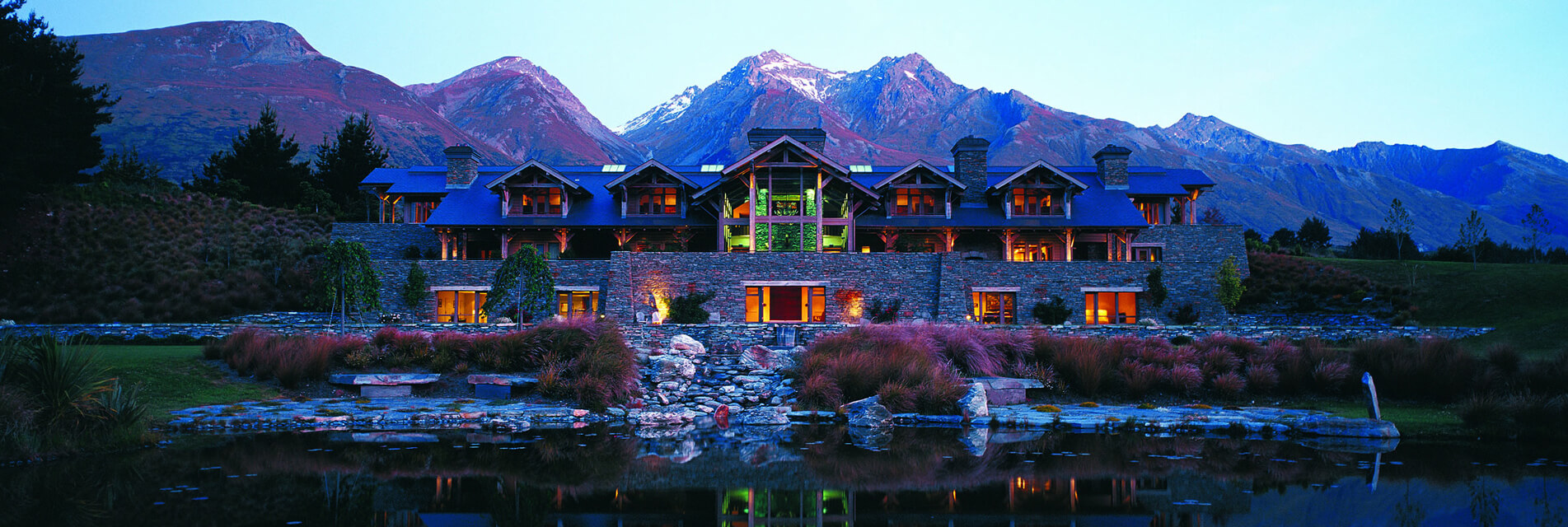 Blanket Bay Lodge Glenorchy New Zealand LR