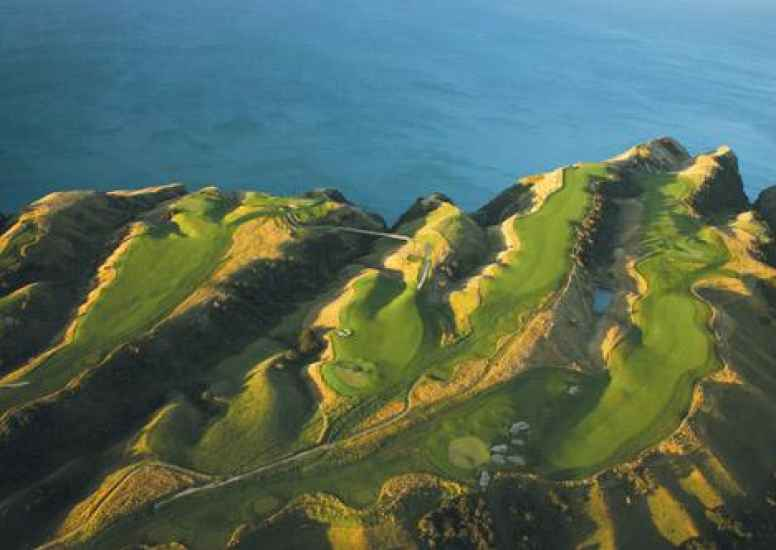 Cape Kidnapper Aerial 1
