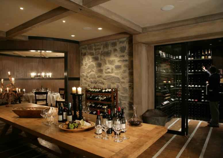 Cape Kidnappers Wine Room Lodge X3