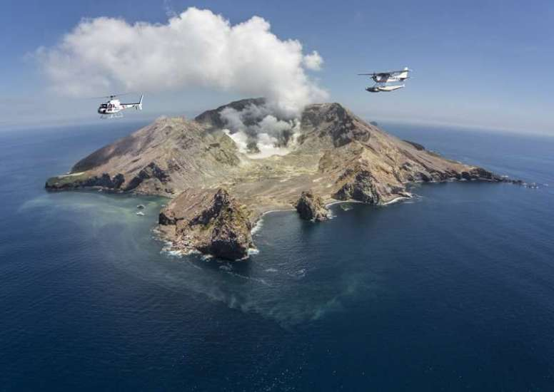 Hero image White Island by Helicopter or Floatplane 1 3 1 0 0 0 1