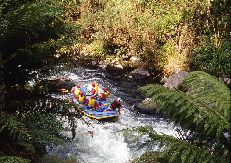 Huka Lodge River Rafting X3