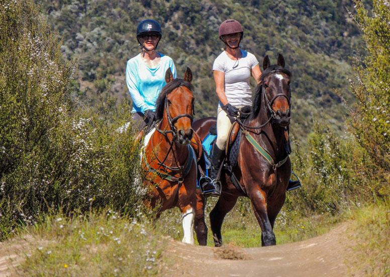 Explore rugged pioneer country on horseback at Poronui