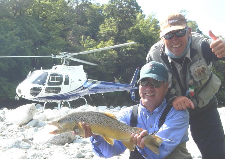 Stonefly Lodge helifishing