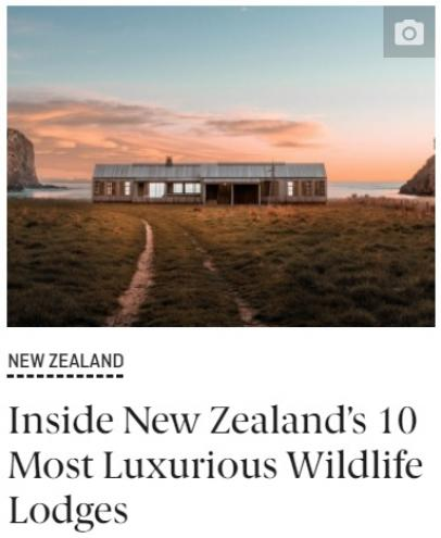 Qantas Top 10 Wildlife Lodges