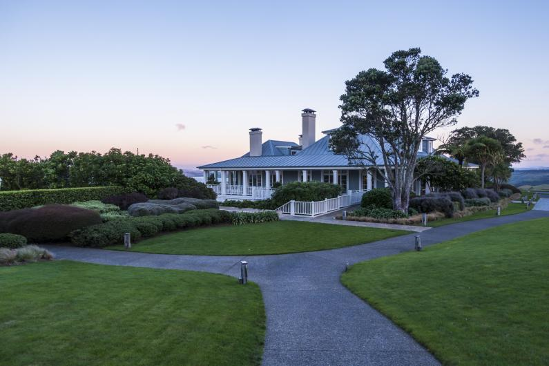 The Lodge at Kauri Cliffs Dusk
