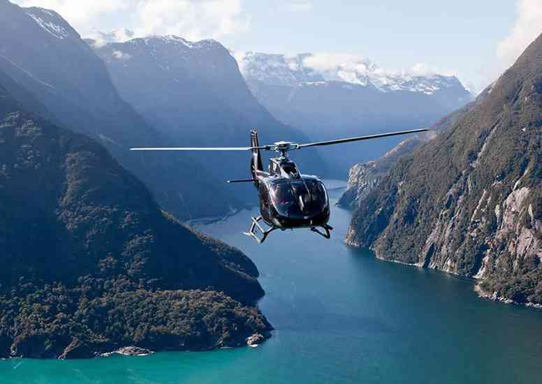 eichardts private hotel activities milford sound heli 2